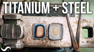 Video CAN YOU MAKE TITANIUM & STEEL DAMASCUS?!?! MP3, 3GP, MP4, WEBM, AVI, FLV Agustus 2018