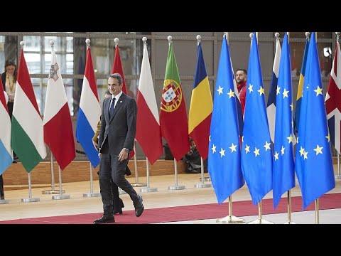 Video - Τι ζητάει ο Κ. Μητσοτάκης για την Τουρκία στο δείπνο των ηγετών της Ε.Ε.