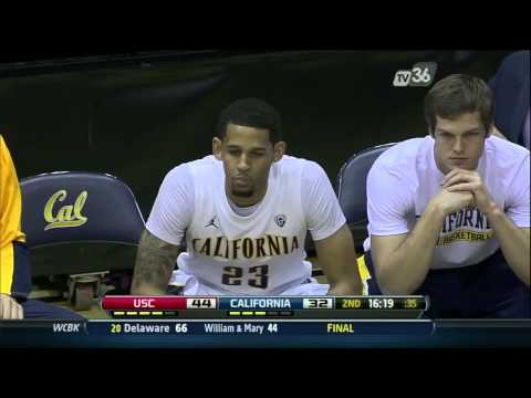 Cal Coach Mike Montgomery Shoves Player to Get Him Fired Up – Video