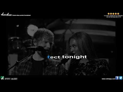 Ed Sheeran & Beyoncé - Perfect Duet (Karaoke HQ With Choir)