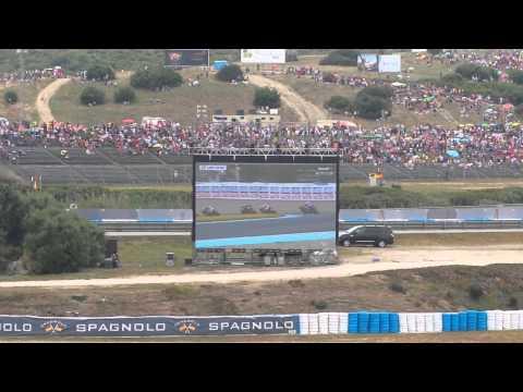 motogp jerez 2015: rossi arriva terzo!