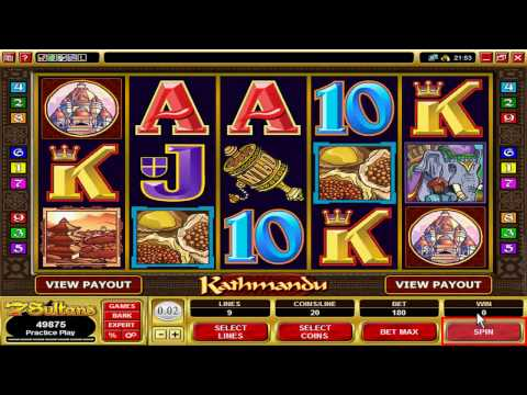 Casino Games: The Kathmandu Video Slot  from 7 Sultans Casino