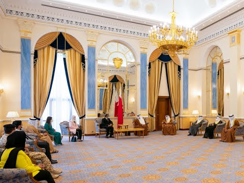 HRH the Crown Prince and Prime Minister receives the Director-General of the WHO