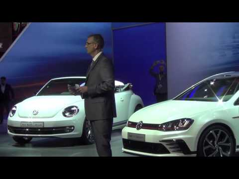 Volkswagen - Dubai International Motor Show 2015