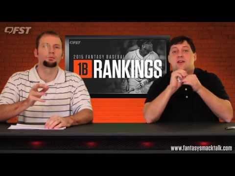 2015 Fantasy Baseball First Base Rankings thumbnail