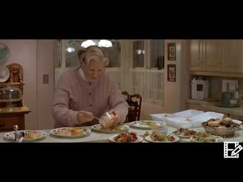 Mrs Doubtfire (1993) Mrs Doubtfire Spends $140 On Dinner