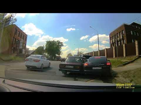 Авария в Гольево на Ильинском шоссе
