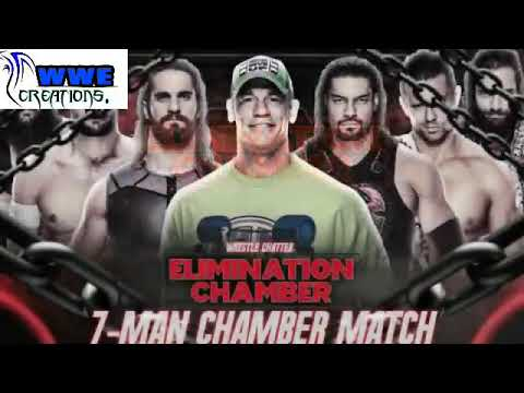 7 Man Elimination Chamber 2018 Winner Predictions