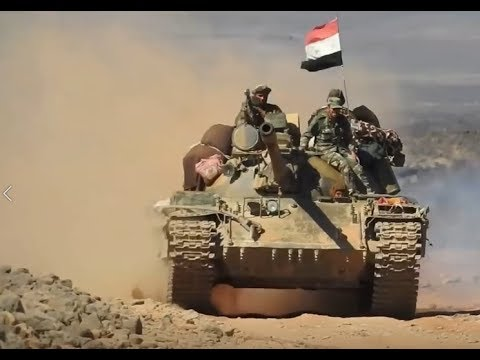 Battles For Syria | August 10th 2018 | Syrian Desert, Sweida Province