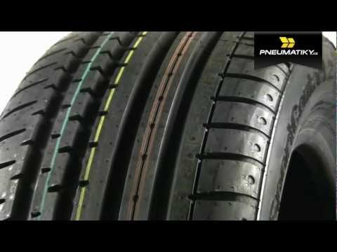 Youtube Continental SportContact 2 245/45 ZR17 Z J FR Letní
