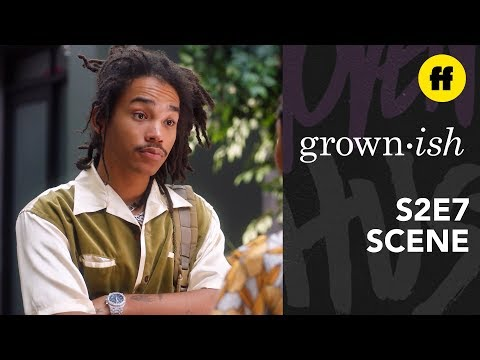 grown-ish Season 2, Episode 7 | Zuca Argue About Cash Mooney | Freeform