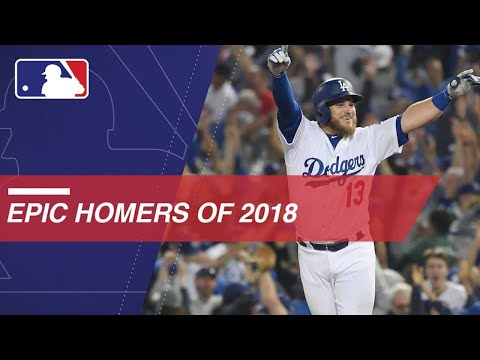 Video: 2018's most epic home runs