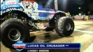 2011 Monster Jam World Finals 12 Las Vegas, NV - CBS Sports Recap Part 2