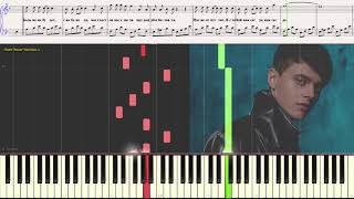 Навсегда - ALEKSEEV (2-х стр. вариант) (Ноты и Видеоурок для фортепиано) (piano cover)