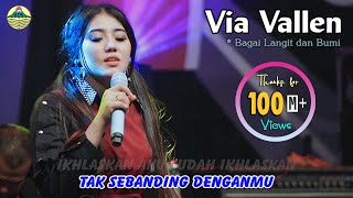 Video Via Vallen - Bagai Langit Dan Bumi   |   Official Video MP3, 3GP, MP4, WEBM, AVI, FLV Maret 2019