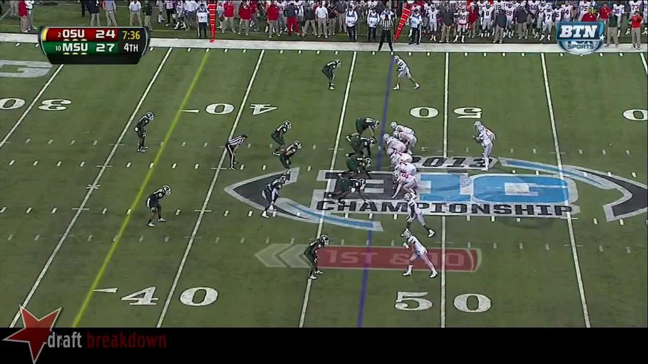 Max Bullough vs Ohio State (2013)