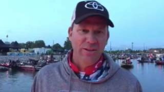 Kevin VanDam - day 1 Wheeler Lake 2016