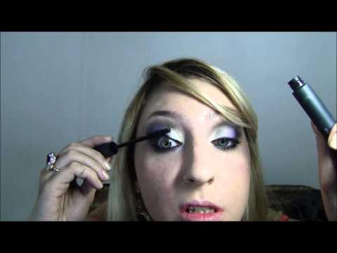 Makeup Tutorial - Look roxo glam usando pigmentos