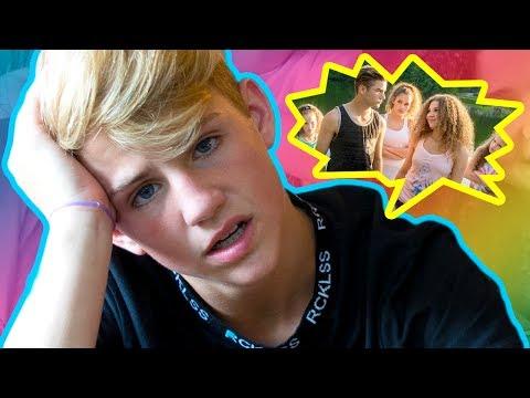 MattyBRaps Reacts - When A Girl Likes A Boy (Haschak Sisters)