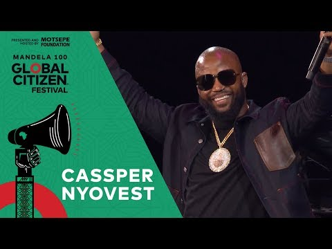 "Cassper Nyovest Performs ""Malome"" 