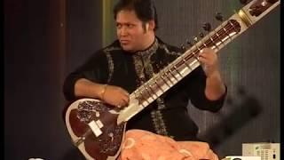 A Scintillating Sitar Recital By Sitar Maestro Pandit Prateek Chaudhuri  ( Raga Yaman ) : MUST WATCH