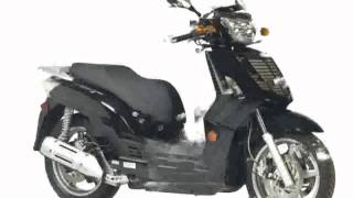 2. 2009 KYMCO People S 200 Details and Specification