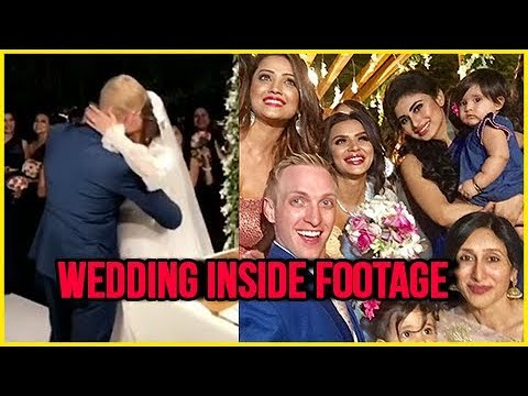 Aashka Goradia And Brent Goble WEDDING INSIDE Foot