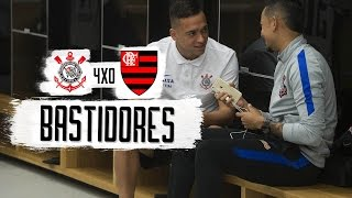 Confira tudo que rolou nos bastidores antes da vitória do Corinthians por 4 a 0 sobre o Flamengo neste último domingo (03), na Arena Corinthians.