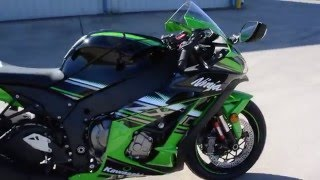 3. $16,299:  2016 Kawasaki ZX10R ABS KRT Edition Overview and Review