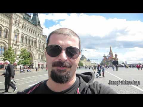 Moscow Russia Vlog 6 19 ( Nice People Everywhere) (видео)