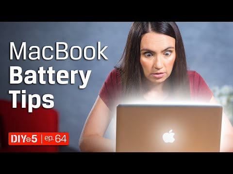 , title : 'Mac Tips 💻 Macbook Pro Battery Life Tips 🔋 DIY in 5 Ep 64'