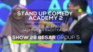 Video Obsesi Arafah Jadi Pacar Raditya Dika (SUCA 2 - 28 Besar Group 5) MP3, 3GP, MP4, WEBM, AVI, FLV Mei 2018