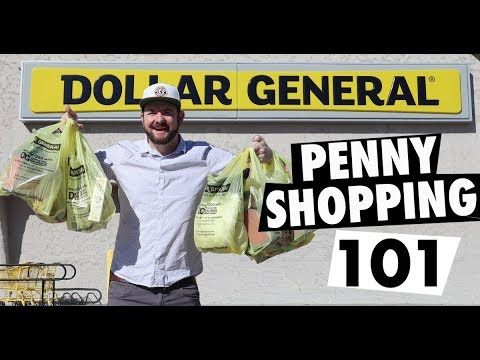 Dollar General Penny Shop with Me - Penny Shopping 101