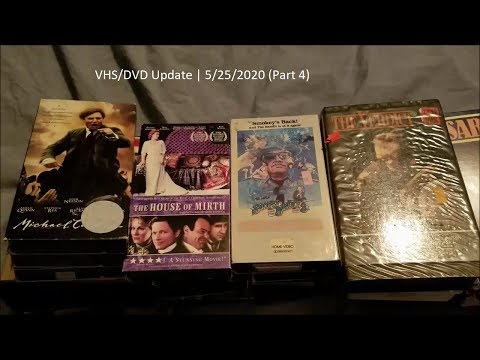 VHS/DVD Update | 5/25/2020 (Part 4)