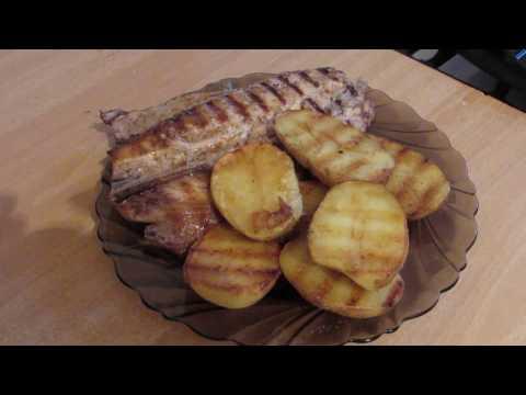 Скумбрия на сковороде гриль рецепты с фото