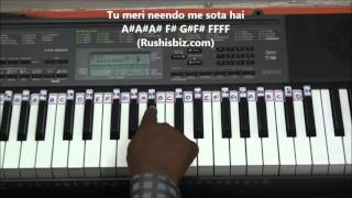 image of Teri Galliyan..... Galliyan......(PIANO TUTORIALS) - EK VILLAIN