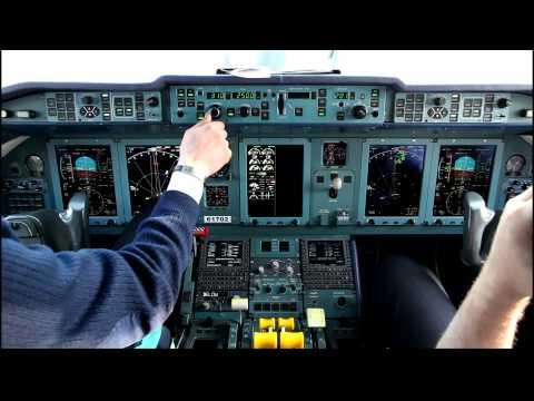 Ан-148 Питер-Киев (видео)