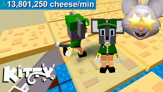 HOW TO FARM CHEESE IN ROBLOX KITTY FALL GUYS..