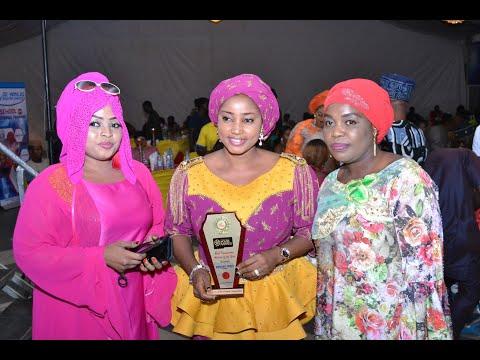 HAFSAT IDRIS WINS BEST KANNYWOOD ACTRESS OF THE YEAR @ CITY PEOPLE MOVIE AWARD