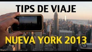 Tips de viaje - Nueva York 2013