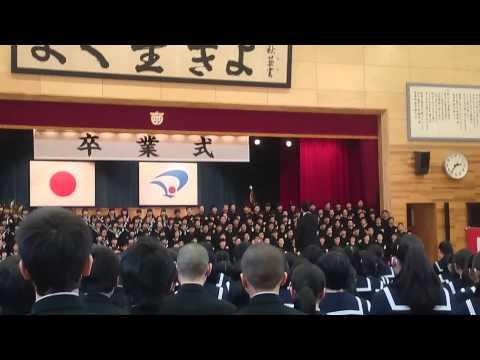 秋田県大仙市立大曲中学校第51期生『優奏学年』卒業式校歌
