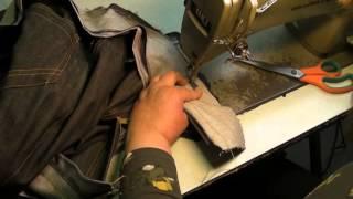 Video Sewing Tutorial - Making Jeans - Part 6 - Attaching the Waistband MP3, 3GP, MP4, WEBM, AVI, FLV Juli 2018