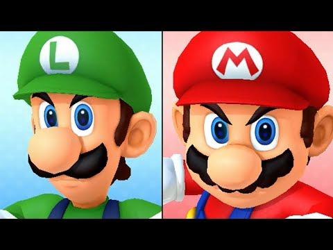 Mario Party 10 - Amiibo Party - Luigi Board (видео)