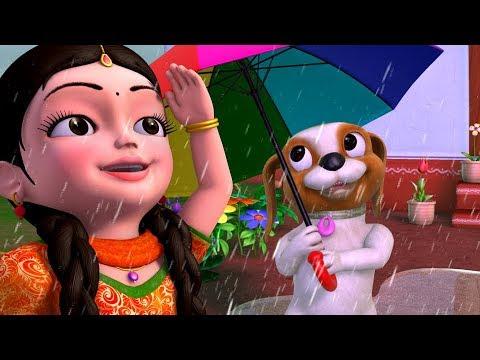 Vana Vana Vallapa & More Rain Songs | Telugu Rhymes for Children | Infobells