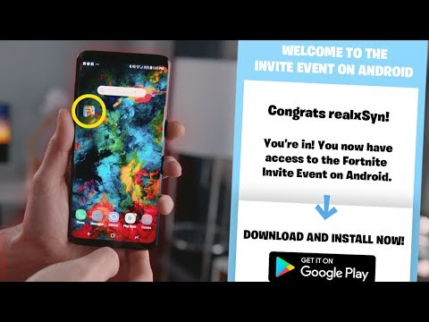 Fortnite Mobile ANDROID DOWNLOAD CODE RELEASE DATE - Fortnite Mobile NEWS!