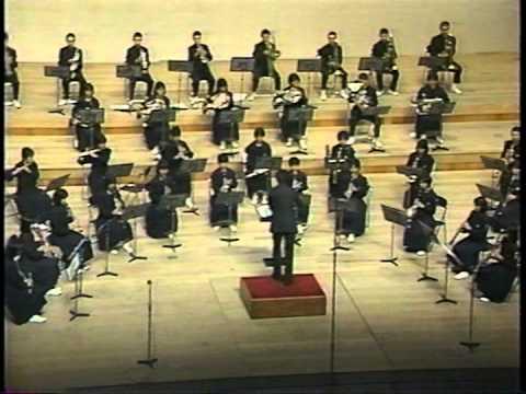 稚内南中学校吹奏楽部 全道大会87