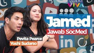 Video Jawab 25 Pertanyaan Kocak Netizen, Pevita Pearce & Yoshi Sudarso Ngegemesin!! MP3, 3GP, MP4, WEBM, AVI, FLV Juli 2018