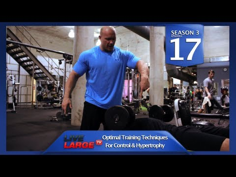 #1 Chest Training Tip for Mass (part 1) – LiveLargeTV.com (Season 3, Ep#17)