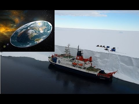 TEAM PLANS SCIENTIFIC EXPEDITION TO ANTARCTICA TO 'PROVE' THE EARTH IS FLAT