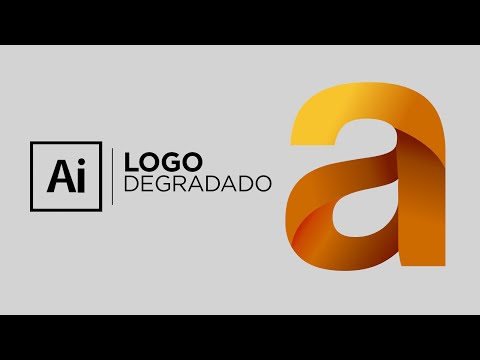 Illustrator - Logo Degradado